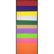 Goma Eva Lisa A4 Bolsa X 10 Colores Diferentes