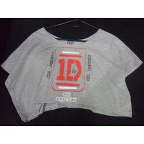 Blusa Camisa Torerito One Direction Artistas Online M Y L