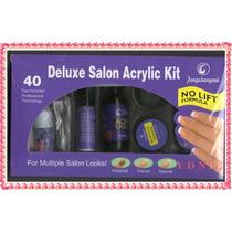 Kit Completo Delux Uñas Acrilicas Esculpida Ydnis Maquillaje