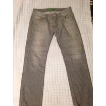 Pantalon De Mezclilla Thats It Color Gris Talla 32 Vestir