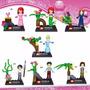 Lego Compatível - Princesas E Príncipes Disney