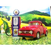 Kf Auto Escala 1/43 Camioneta Ford Y Bomba Gasolina 1950