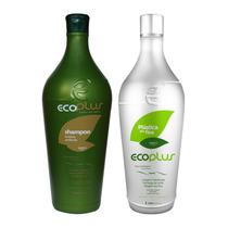 Escova Progressiva Plástica Dos Fios Ecoplus 2x1000ml