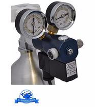 Macro Aqua Válvula Com Solenóide Dupla Co2 Mco-40 Aquario