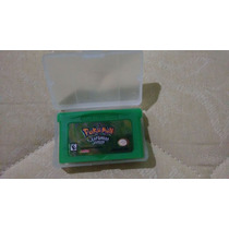 Pokemon Leaf Green Gba - Salvando 100% Jogo