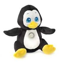 Peluches Pinguino Flashlight Friends, Con Luz De Noche