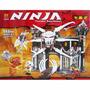 Ninja (compatible Con Ninjago), 552 Pcs