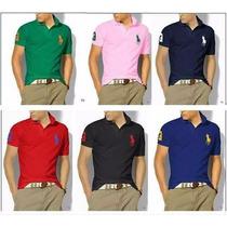 Kit 5 Camisa Masculina Polo Ralph Lauren Frete Grátis