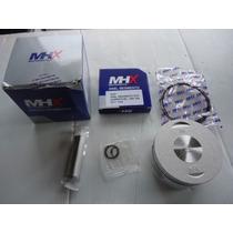 Pistao Com Aneis Crf 230 Standard Kit Completo Mhx Com Nota
