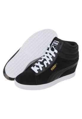 Tenis Botas Puma Clasic Wedge Mujer Con Tacon Num 26 -   1 ff83a7049dec0