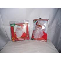 Disfraz Peluca Santa Claus $1500.00