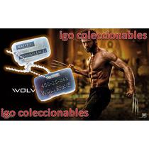 Placas Militares Wolverine Marvel X-men Igo Coleccionables!