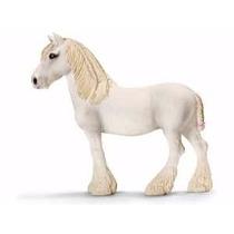 Schleich - Caballos 13735-caballo Shire Hembra