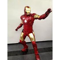 Iron Man Armadura Disfraz Botarga