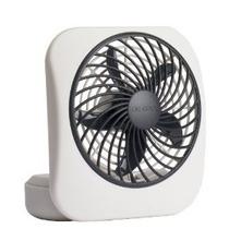 O2cool 5 Con Pilas Ventilador Portátil En Blanco / Gris