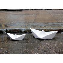 Botanero Y Cenicero En Forma De Barco De Cerámica Diseño