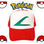 Gorra Ash Pokemon Bordada Calidad A1 Somos Los Q Más Vendmos