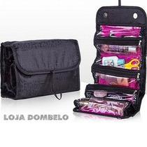 Porta Maquiagem Para Kit De Estojo Maleta Organizador Bolsa