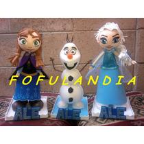 Frozen,centros D Mesa,fiestas Infantiles,fofuchas,comuniones