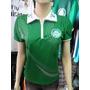 Camisa Baby Look Polo Feminina Palmeiras