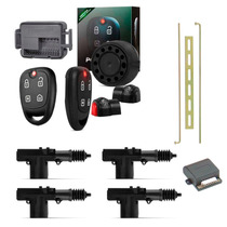 Alarme Automotivo Positron Exact Ex 330 +kit Trava 4 Portas