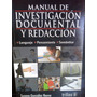 Manual De Redaccion E Investigacion Documental De Gonzalez