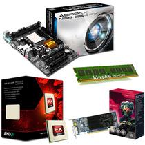 C50 Combo Actualizacion Pc Amd Fx 8350 8gb R7 250 1gb Mother