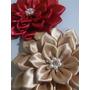 Flores De Tela,lazos Y Cintillos,merceria,kanzashi