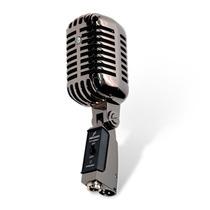 Microfone Arcano Vintage Vt-45bk1 Com Maleta