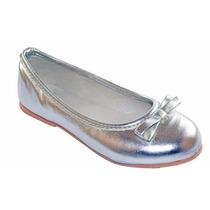 Zapatos Balerinas Gliter N° 27 Al 40 Lapata Zapata