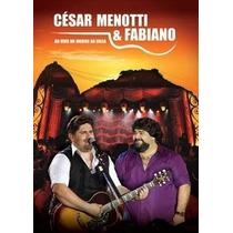 Cesar Menotti & Fabiano Ao Vivo No Morro Da Urca Dvd Lacrado