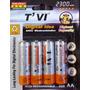 Bateria Pila Recargables Doble Aa 2300mah Paquete De 4 1.2v