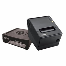 Combo Sat Fiscal Elgin Linker + Impressora Termica I9 Usb