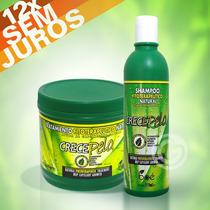 Kit Crece Pelo Boé - Shampoo 370ml + Máscara 454g Crecepelo