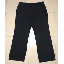 Padrisimo Pantalon Negro Mossimo Talla 36/38 Tela Stretch