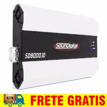 Modulo Amplificador Soundigital Sd8000 Sd8k 8000w 2 Ohms