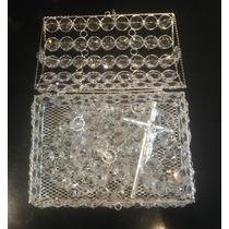 Cofre Para Lazo Cristal Swarovski Octagon