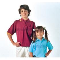Chomba De Pique Escolar Colegial Azzurra - Talles Adulto