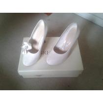 Zapato De Novia Grezzo Talla 35 - 36