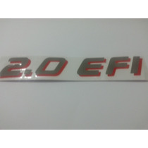 Emblema Adesivo 2.0 Efi Monza Club,,