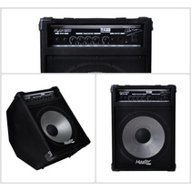 Cubo Amplificador Contra Baixo Slap250 Rms Af15 Frete Gratis