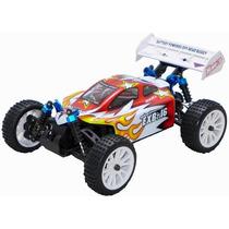 Automodelo Eletrico 4x4 Buggy 1/16 Himoto Controle 2.4ghz