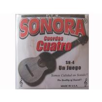 Cuerdas Sonora Para Cuatro Venezolano Sn-4 Made In U.s.a