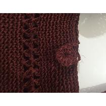 Bolso Cartera Tejida Al Crochet