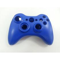Carcaça Case Capa Para Controle Wireless Xbox 360 (azul)