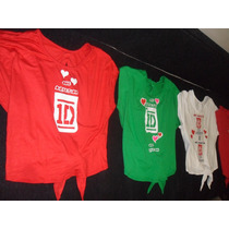 One Direction Camisas Artistas Online Talla S M