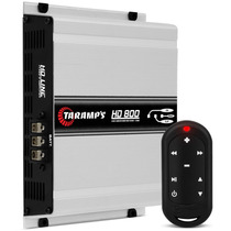 Modulo Taramps Hd 800 Rms 2 Ohms Mono + Controle Tlc 3000