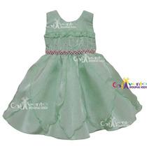 Vestido Infantil Tinker Bell Sininho, Pequena Sereia E Tiara