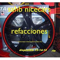 Tapon De Rin 14 Negro Universal Davo Nicecars