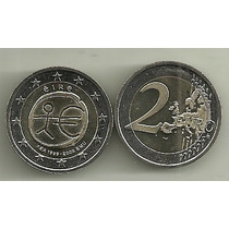 Moneda Irlanda Bimetalica 2 Euro Año 2009 Sin Circular